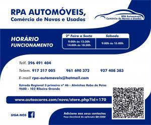 Rpa-Automóeis Comercio novos usados